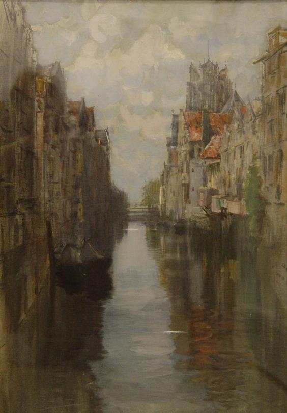 Behind the Groote Kirk, Dordrecht