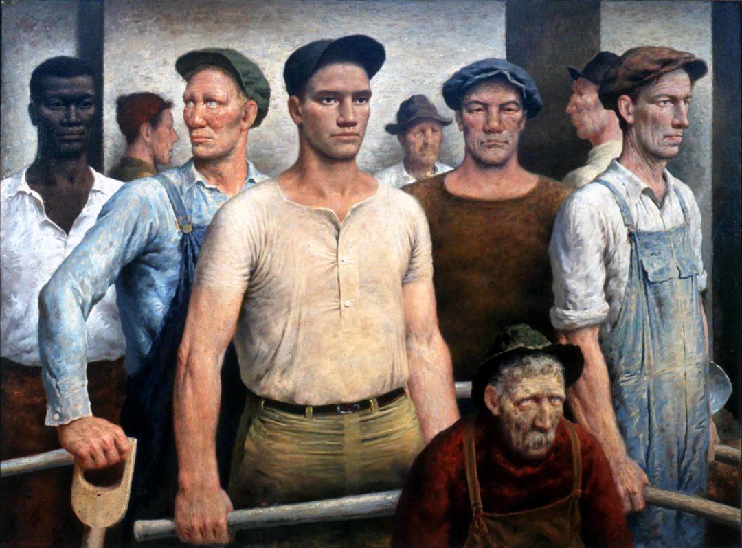 Nine Workmen