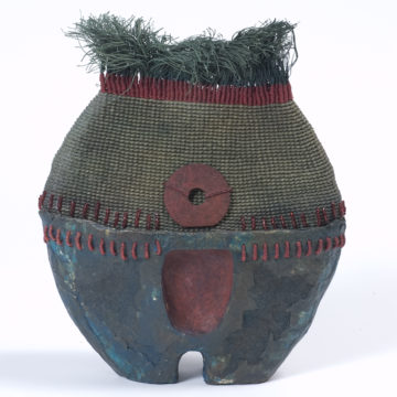 Basket featured in Interwoven exhibition.
