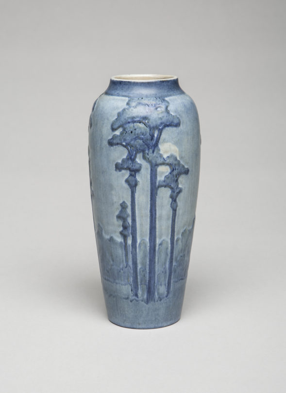 Vase from Moss and Moonlight series