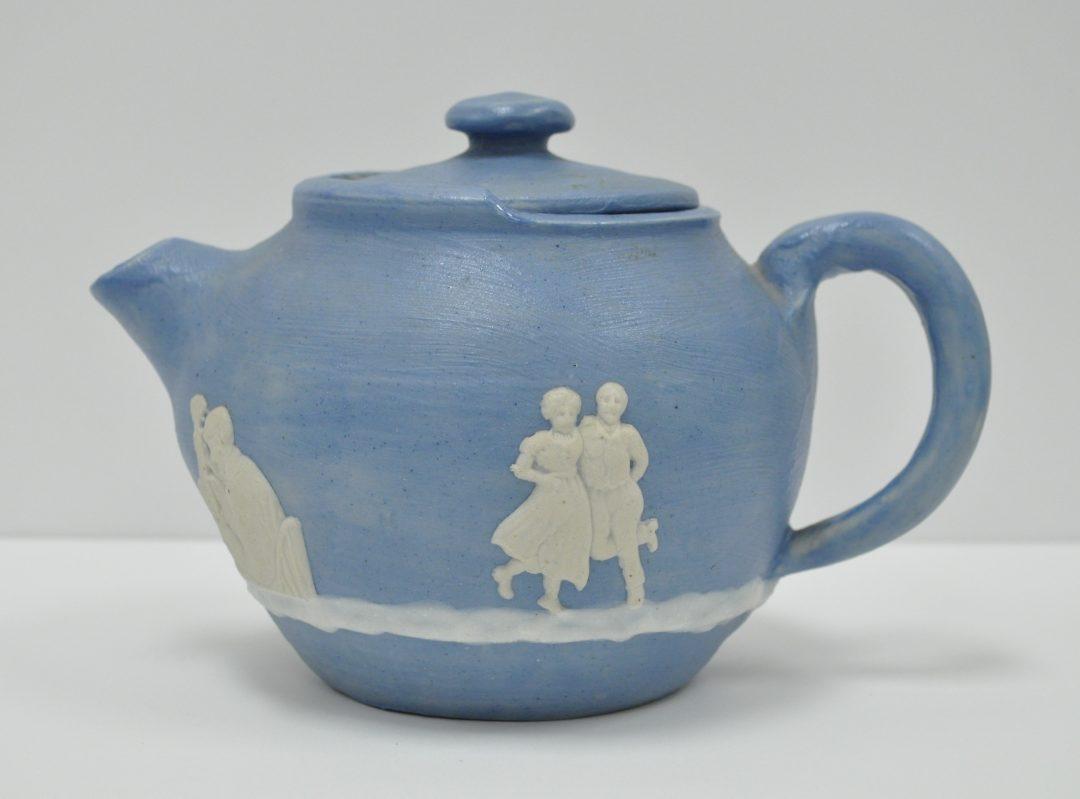 Square Dancers teapot
