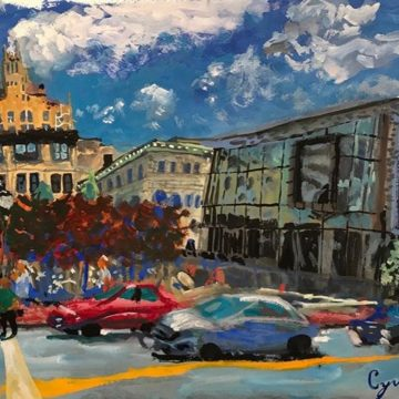 "@cyrusglance ""Asheville Art Museum 7/2/19"""