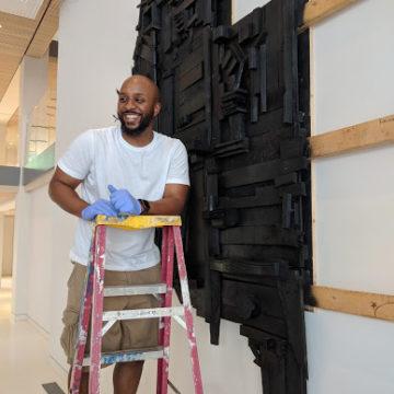 Wesley Clark installing My Big Black America