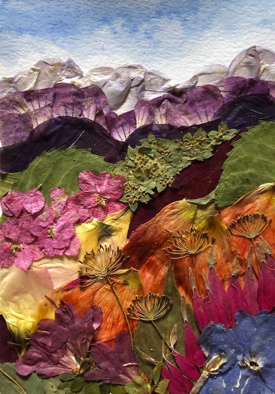 Dandelion flower art Original acrylic painting - купить на