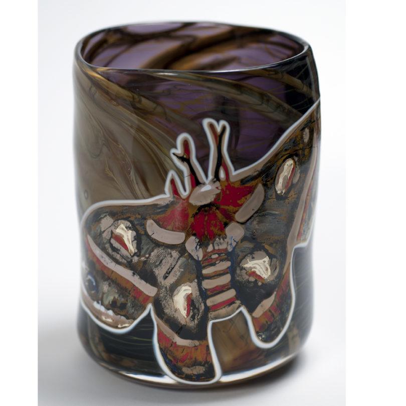 Lunar Moth Vase