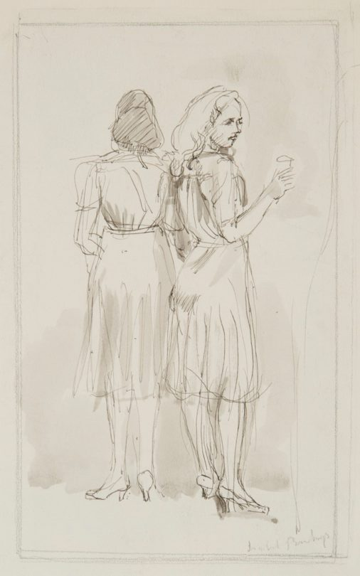 Two Women Standing