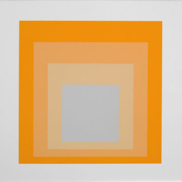 A Josef Albers print