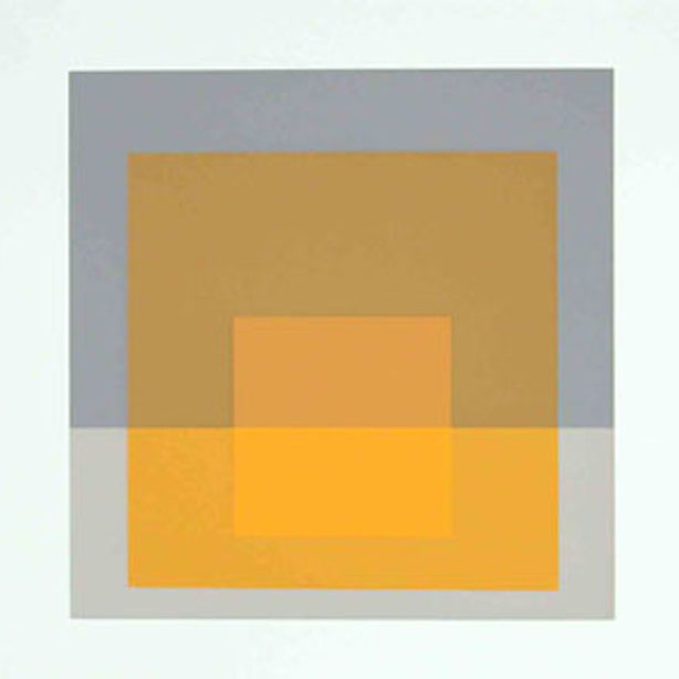 Josef Albers, Formulation: Articulation Folio II, Folder 5, 1972, screenprint on paper, 15 × 40 inches. Black Mountain College Collection, gift of The Josef & Anni Albers Foundation, 1997.01.05.65E. © The Josef and Anni Albers Foundation / Artists Rights Society (ARS), New York.