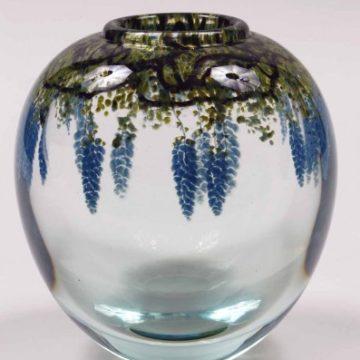A glass work by Mark Peiser.